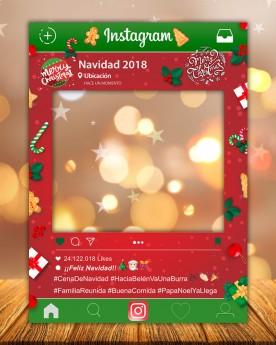Photocall Instagram Navidad