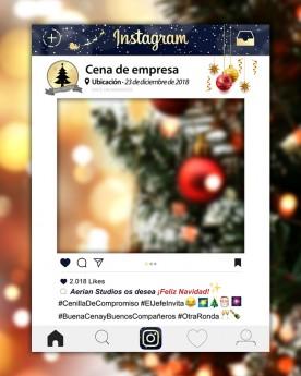 Photocall Instagram Navidad II
