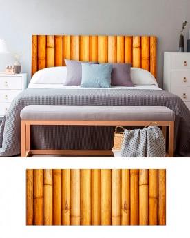 Cabecero Cama PVC 5mm | Bambú