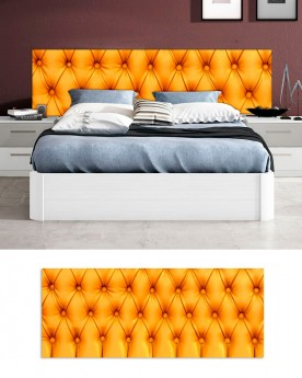 Cabecero Cama PVC 5mm | Orange