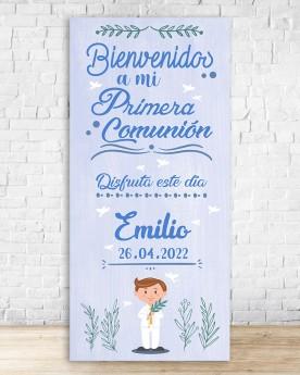 Cartel Comunión | Blue