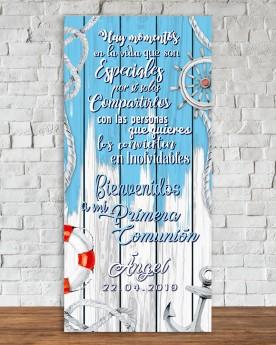 Cartel Comunión | Sailor