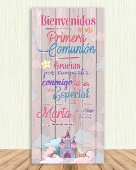 Cartel Comunión | Castle