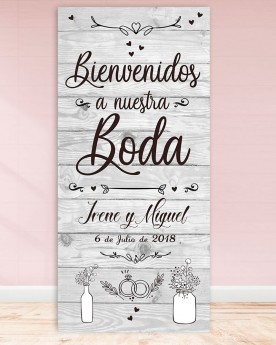 Cartel boda White