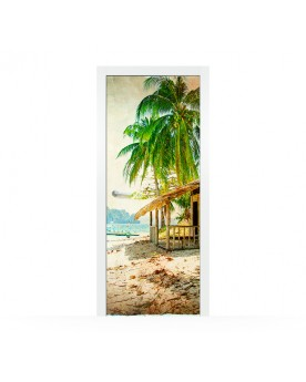 Vinilo Puerta Caribbean