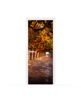 Vinilo Puerta Autumn