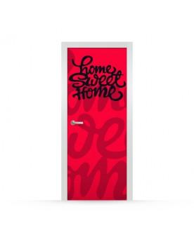 Vinilo Puerta Home