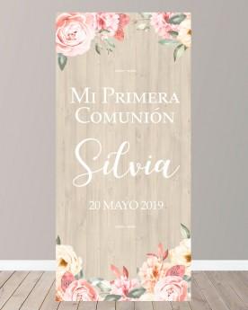 Cartel Comunión | Flower