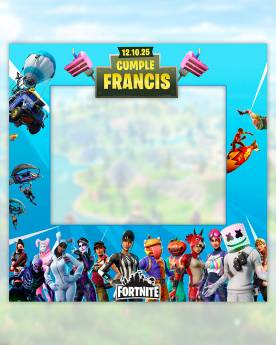 Photocall Fornite