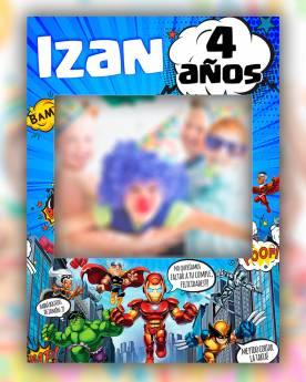 Photocall Infantil Super...