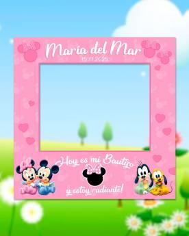 Photocall Infantil Minnie