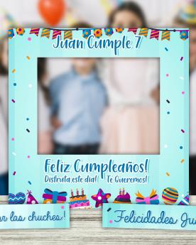 Photocall Infantil Birthday
