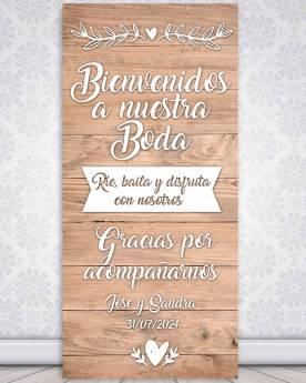 Cartel boda Sweet