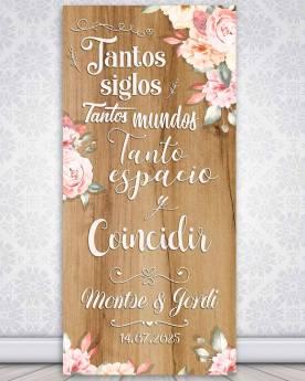 Cartel boda Siglos