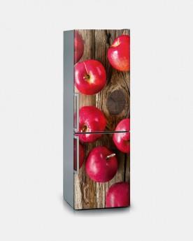 Vinilo Frigorífico Apples