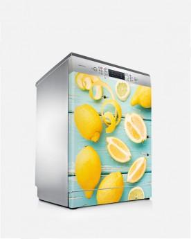 Vinilo lavavajillas Lemons