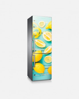 Vinilo Frigorífico Lemon