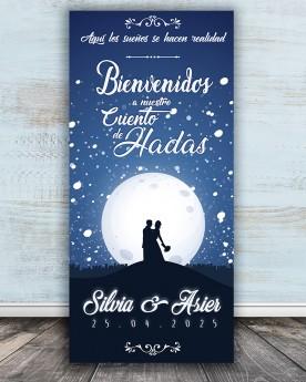 Cartel boda Cuento de Hadas