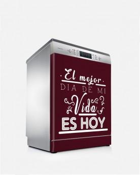 Vinilo Lavavajillas Es hoy