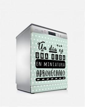 Vinilo Lavavajillas Miniatura